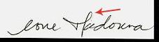 Assinatura Madonna